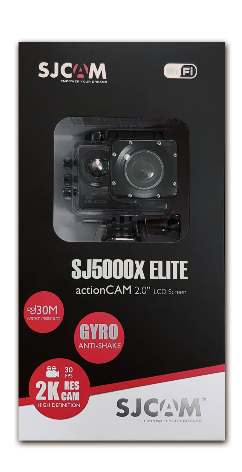 Box of SJ5000x Elite
